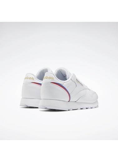 Reebok Kadın Beyaz Classıc Leather  Sneakers EG5975 Beyaz